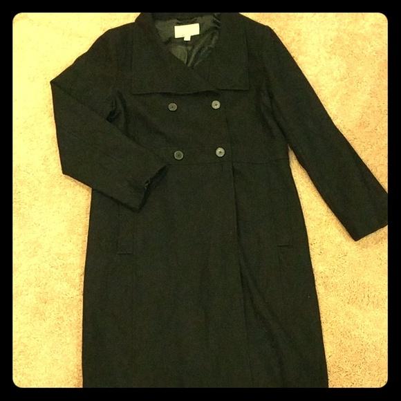 c9850f0753c5b Women s XXL wool long coat BLACK. M 5b2994da04e33d379fb2e226